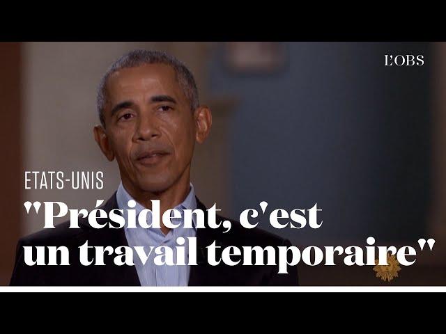 """Barack Obama alerte sur \""""les dégâts\"""" que Donald Trump fait peser sur la démocratie"""