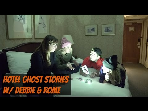 Podcast #114 - Hotel Ghost Stories W/ Debbie & Rome