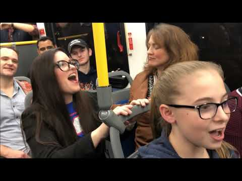 The Cast of VIOLET Takes A Bus Ride!