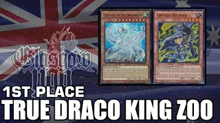 55 card true king draco zoo top 8 nowra australia regionals profile by bohdan temnyk