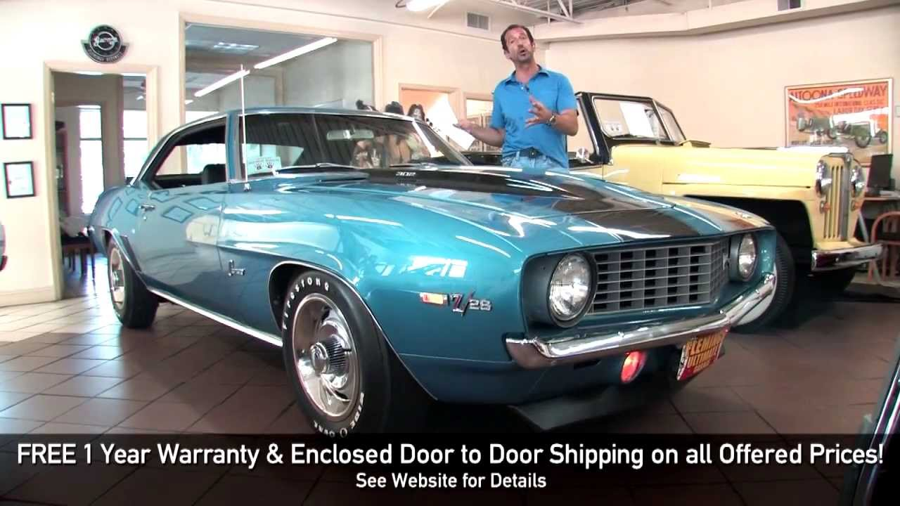 1969 Chevrolet Camaro Z28 DZ302 For Sale With Test Drive
