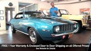 1969 Chevrolet Camaro Z28 DZ302 for sale with test drive, driving sounds, and walk through video