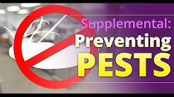 eFoodHandlers presents: Preventing Pests