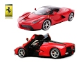 default - 1/14 Scale Ferrari La Ferrari LaFerrari Radio Remote Control Model Car R/C RTR Open Doors (Color May Vary)