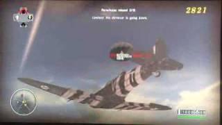 Blazing Angels 2 Gameplay