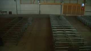 Le marché aux veaux de St-Laurent de Chamousset fermé