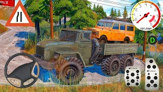 Track driver cargo impossible tracks 2021- truck driving simulator games video game screenshot 4