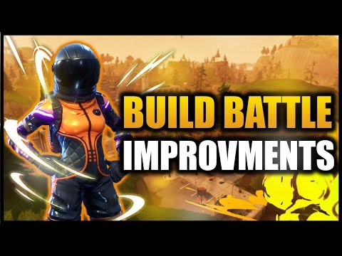 Fortnite Build Battle Improvements! - *NEW STRETCHED RES!*