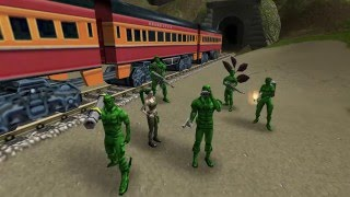 Play Army Men RTS Mission 14 SCORCHED TURF