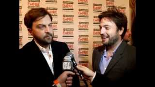 Empire Awards 2012 - The Inbetweeners Iain Morris, Damon Beesley & Blake Harrison Interview