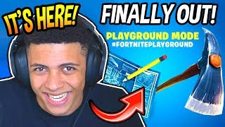 MYTHE REACTS TO 'NEW' PLAYGROUND LTM MODE! (RÉEL) Fortnite SAVAGE - Moments FUNNY
