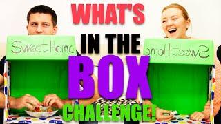 WHAT'S IN THE BOX?  CHALLENGE! |  ЧТО В КОРОБКЕ?  ВЫЗОВ! | SWEET HOME