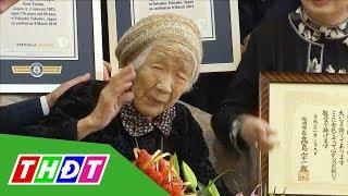 Cụ bà 116 tuổi trở thành người cao tuổi nhất thế giới | THDT