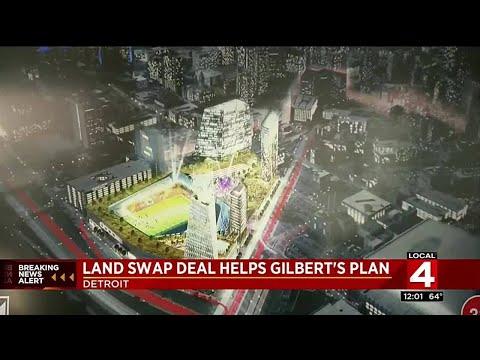 Land swap deal helps Gilbert's plan
