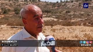 مواطنون يتصدون لمحاولات الاحتلال مصادرة أراضيهم في بلدة راس كركر