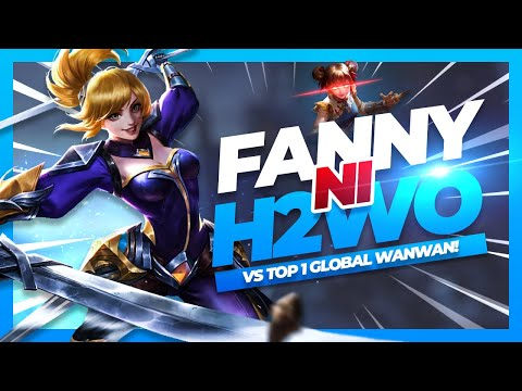 FANNY NI H2WO NAKALABAN ANG TOP 1 GLOBAL WANWAN