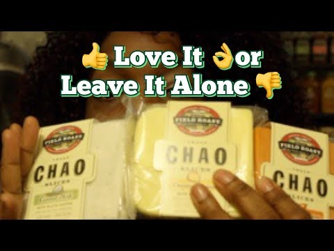👍 Love It 👌or Leave It Alone 👎:  Chao Vegan Cheese Slices By Field Roast #LIOLIA