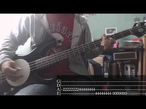 Blink-182's week - 07 - Always [Bass Cover + Tab]