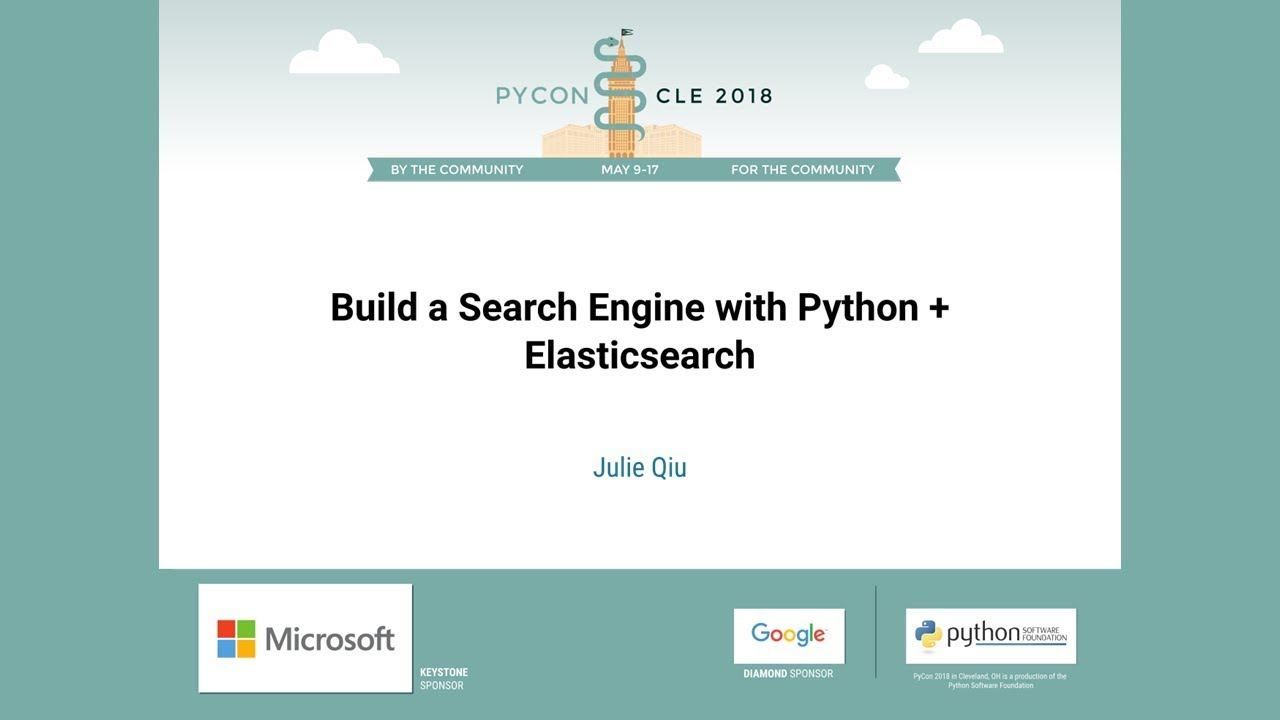 Image from Build a Search Engine with Python + Elasticsearch