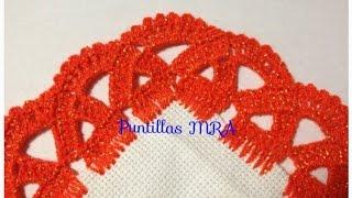 Puntilla para servilleta MRA Lizet Sanchez