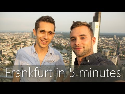 Frankfurt in 5 minutes | Travel Guide | Must-sees for your c