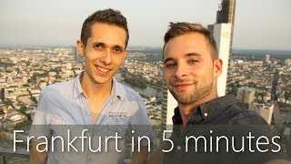 Video Frankfurt in 5 minutes | Travel Guide | Must-sees for your city tour download MP3, 3GP, MP4, WEBM, AVI, FLV September 2018
