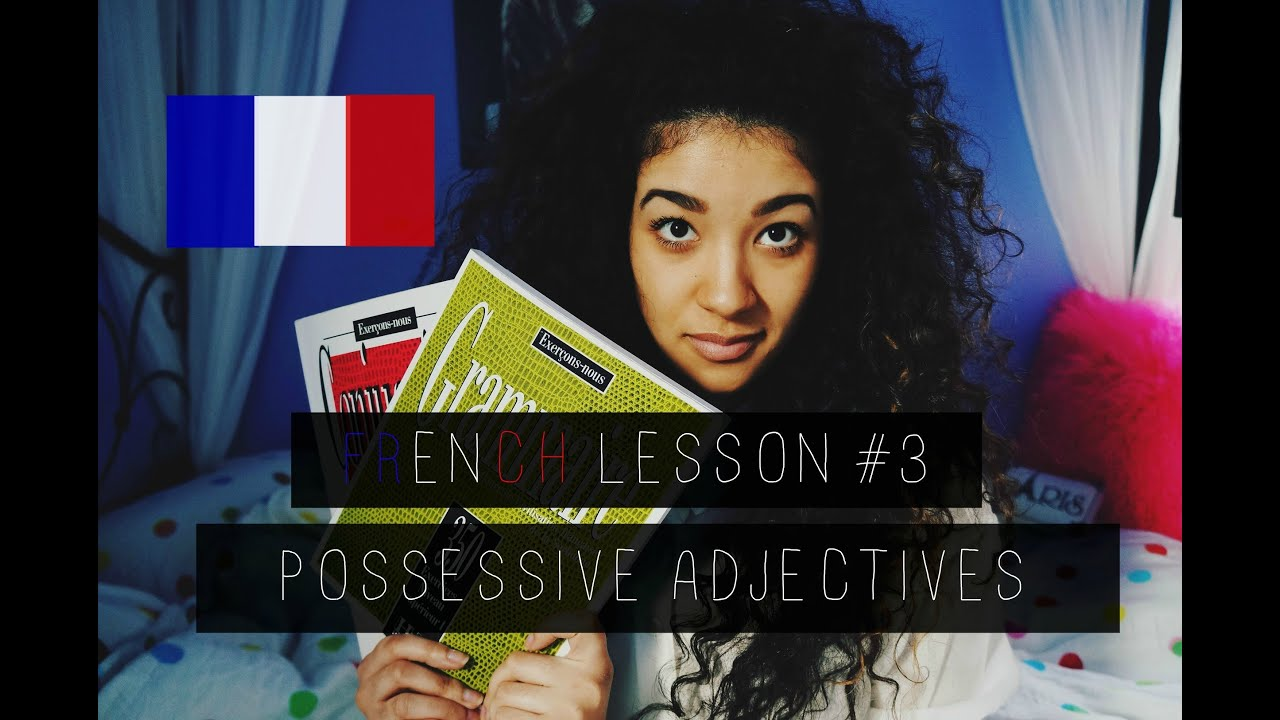 French Lesson 3 Possessive Adjectives