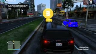 GTA 5 ONLINE | EP.12 | Paracaidismo y Carrera GTA | DjMaRiiO