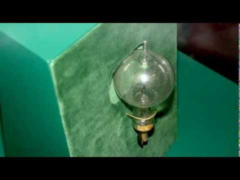Thomas Edisons First Practical Light Bulb In