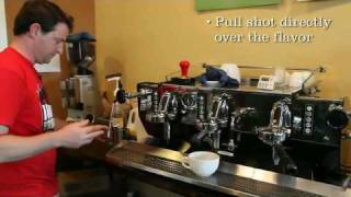 Flavored Caffe Latte Method Of Production