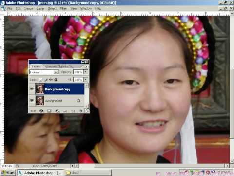 7iun Huong Dan Photoshop CS3 - Cach Tao Tham My Anh 5/39