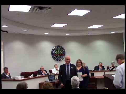 April 11 2018 Sussex County Board of Chosen Freeholders