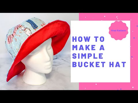 How to Make a Simple Bucket Hat