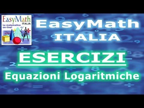 Equazioni Esponenziali-Logaritmiche Miste e tecniche risolutive - TEORIA (2014.06.13-18.51) (a) from YouTube · Duration:  6 minutes 35 seconds