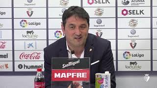 """Braulio Vázquez: """"El objetivo prioritario a nivel deportivo era mantener el bloque"""""""