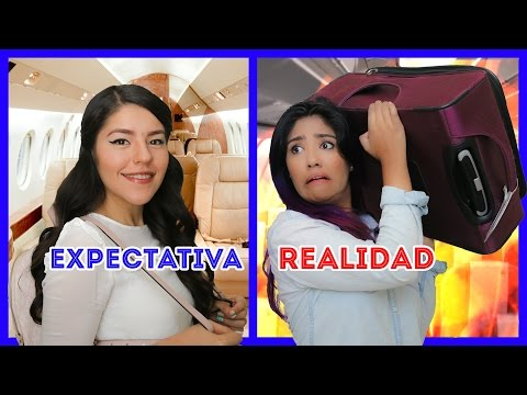 EXPECTATION VS REALITY TRAVEL | LOS POLINESIOS