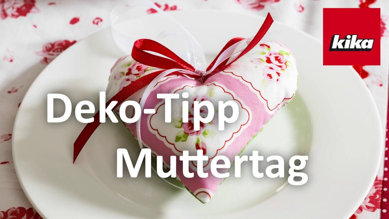 Deko Tipp Muttertag Herz Youtube