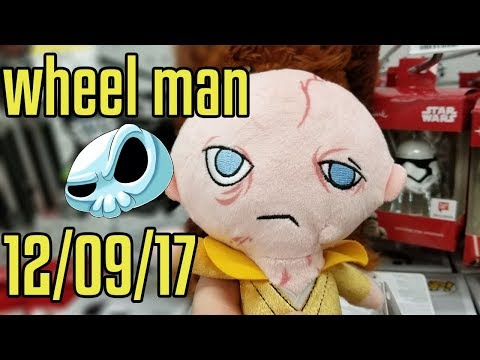 Wheel Man #7 - Xmas Light shopping at Walgreens