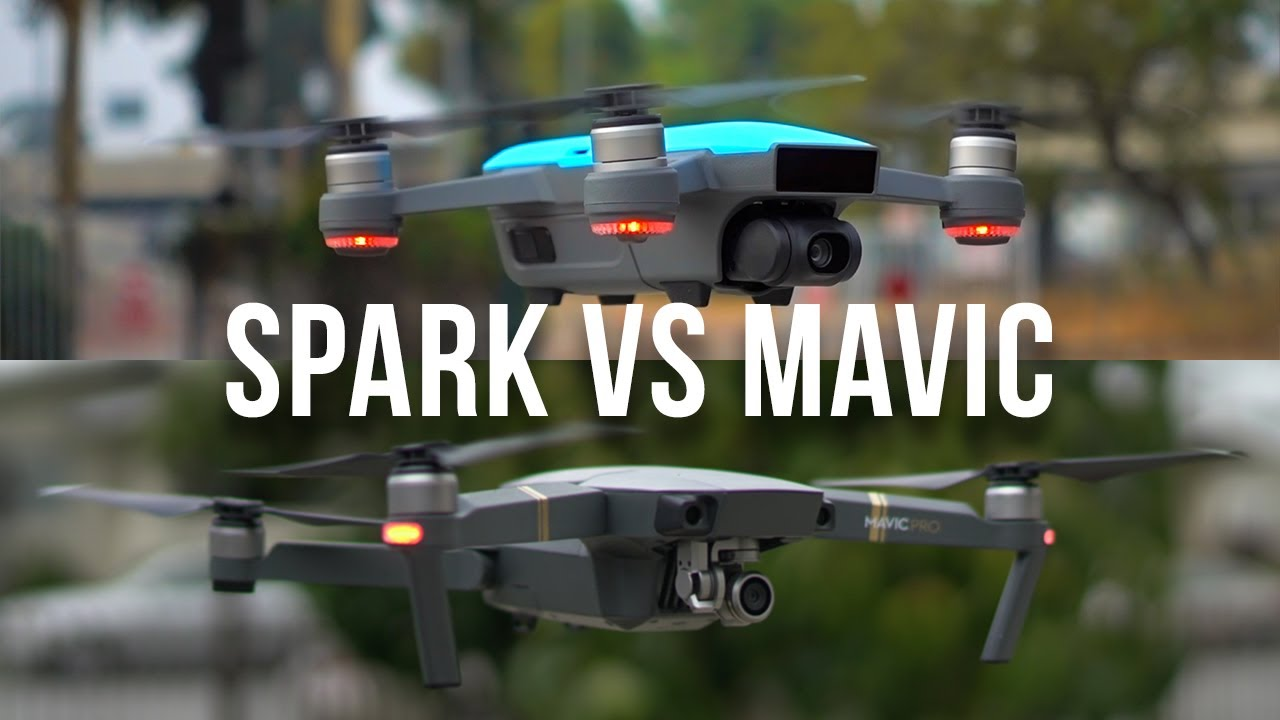 Dji Spark Vs Mavic Pro >> Dji Spark Vs Mavic Pro Review And Comparison Youtube