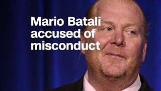 Mario Batali accused of sexual misconduct