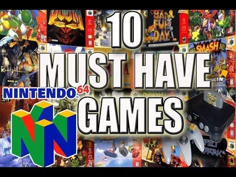 Top 10 Must Own N64 Games