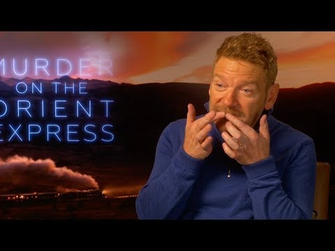 KENNETH BRANAGH defends the big MOUSTACHE