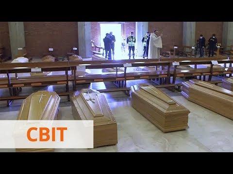 Церкви в качестве моргов: в Европе растет число погибших от коронавируса