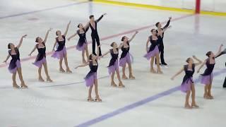 Синхронное фигурное катание на коньках. Тольятти 2018