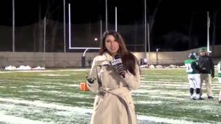Tulin Reports Community Athletics for News8 at 10