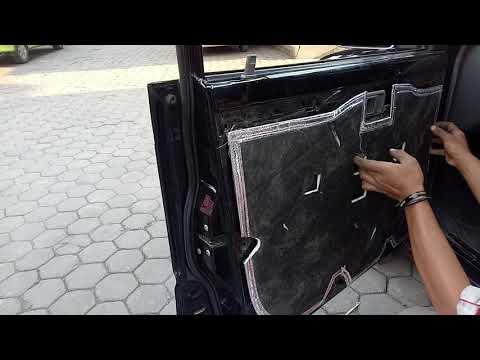 Peredam suara pintu Kijang KapsuL pick-up Bandung