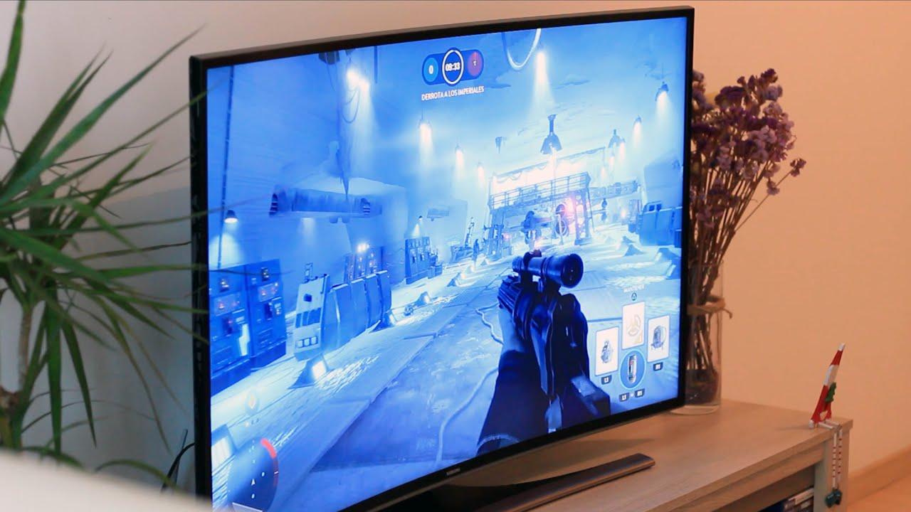 samsung tv 4k curva serie 6 youtube. Black Bedroom Furniture Sets. Home Design Ideas