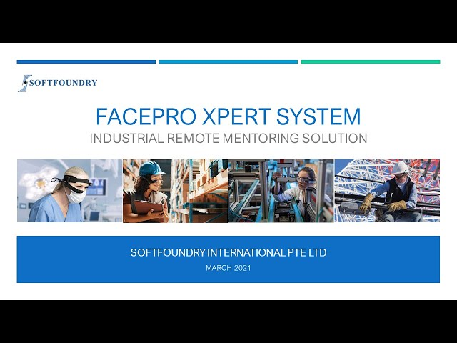 Vuzix and Softfoundry FacePro Xpert System Demo & ABB Smart Glasses Use Case & Deployment