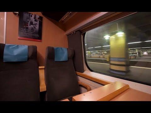 Sweden, arriving @ Stockholm Central Station with SJ train X2000 from Copenhagen, 1X elevator