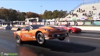 Corvette DEEP in the 6s - Quickest and Fastest IRS Car Ever